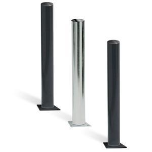Bollards with Base Plate